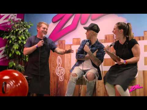 ZMTV: Jase & PJ Interivew Justin Bieber at Our #ZMBieberQ