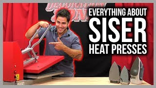 A Guide to Siser® Heat Presses