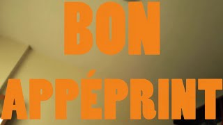 BON APPÉPRINT FILM