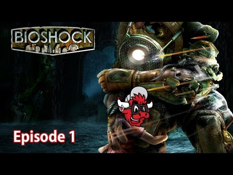 Bioshock 1 Remastered || Part 1|| I THOUGHT THIS GAME WAS FRIENDLY!!!