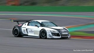 Audi R8 LMS Ultra GT3 - LOUD Sounds!!