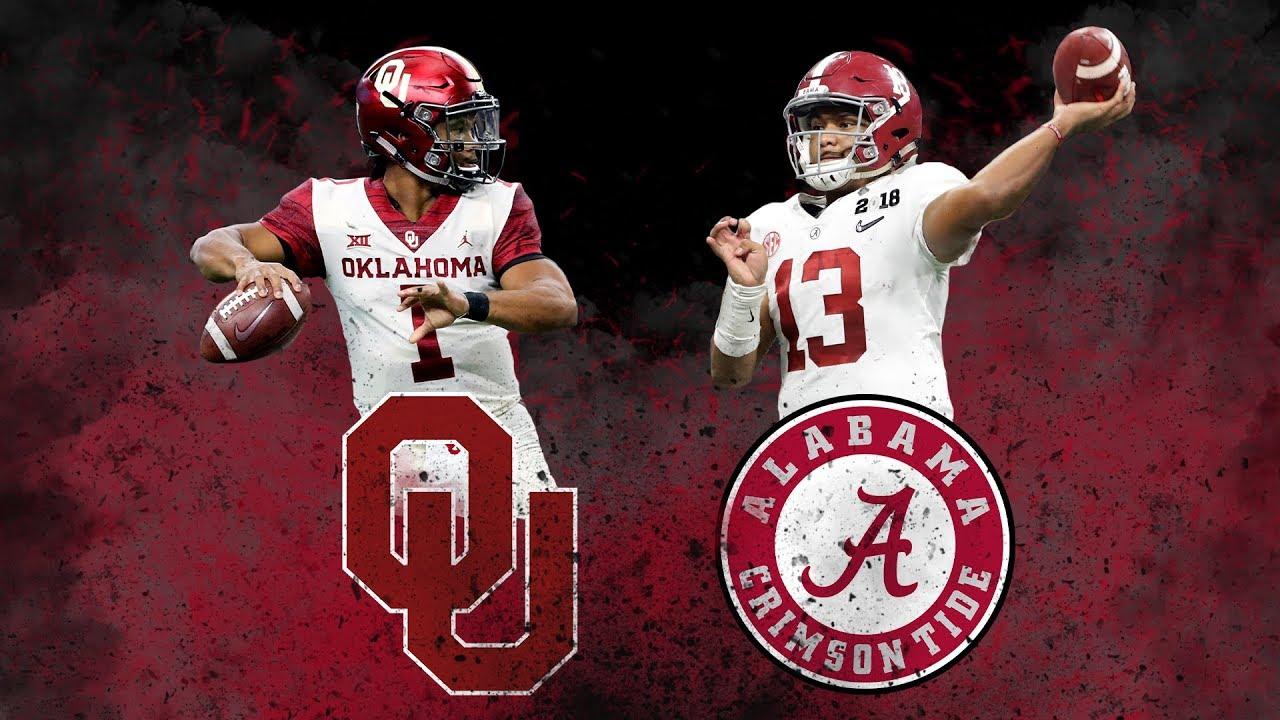Alabama Vs Oklahoma || 2018 College Football Playoffs ...