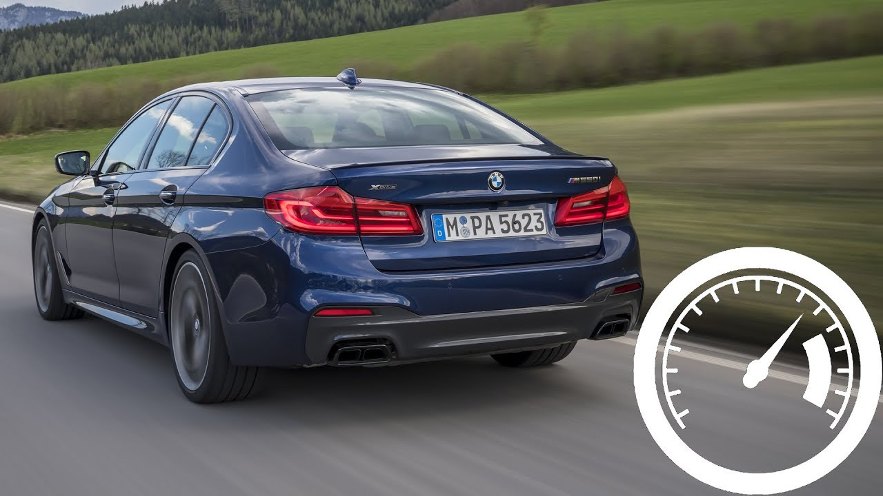 Bmw M550i Xdrive Acceleration 0 100 Km H 250 Top Sd 1001cars