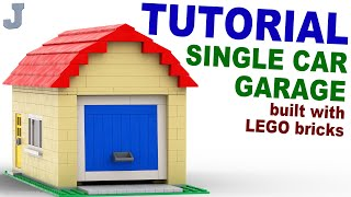 Tutorial - Lego Single Car Garage [cc]
