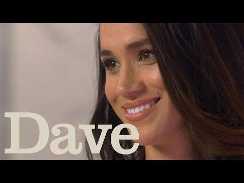 Meghan Markle Rapid Fire Questions   Suits Season 5   Dave