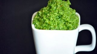 Reel Flavor - Arugula, Parsley & Basil Pesto