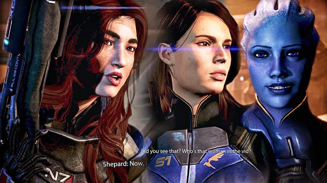 Mass Effect 3 Mods 03: Enter Liara, Alternate Armor on Priority: Mars  (Insanity Femshep Vanguard)
