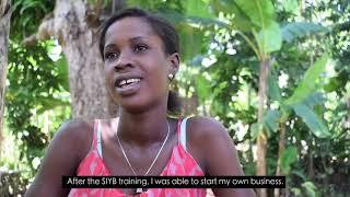 ILO HAITI-FOPRODER PROYECT-Entrepreneurship Success Story