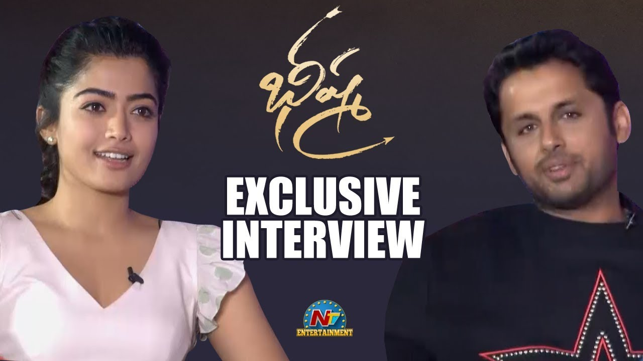 Nithin And Rashmika Valentine S Day Special Interview About Bheeshma Movie Video Social News Xyz