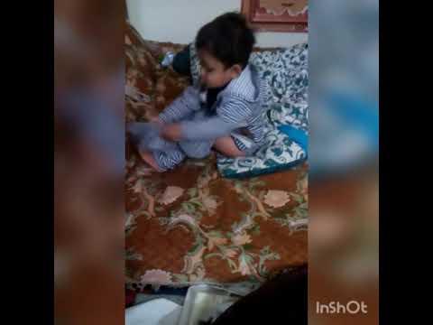 Funny Pakistani baby on meri kali jind nu so siyape