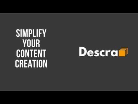 Descra - simplify your copy creation