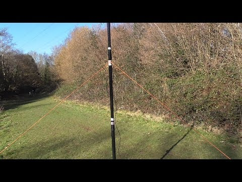 Repeat SOTA/Wire Antenna Portable Telescopic Pole Setup by K6ARK