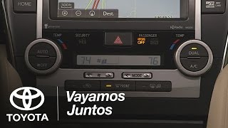 Toyota: Cómo UsarHVAC| 2014.5 Camry | Toyota