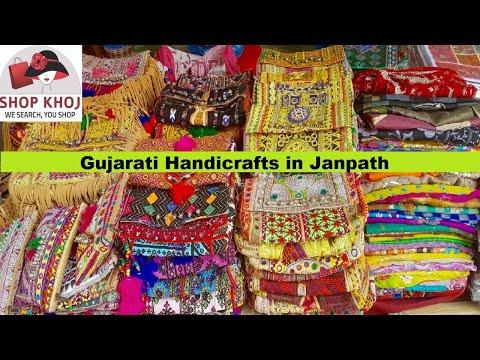 Gujarati Handicrafts in Janpath, New Delhi   Shopkhoj