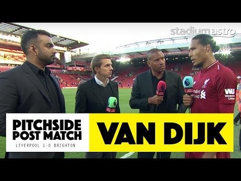 "Van Dijk: ""It's not all about me"" | Liverpool 1-0 Brighton | Astro SuperSport"