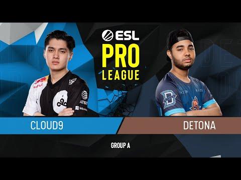 DETONA vs Cloud9 vod