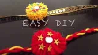 EASY DIY FOR KIDS/ Rakhi making / Rakshabandhan