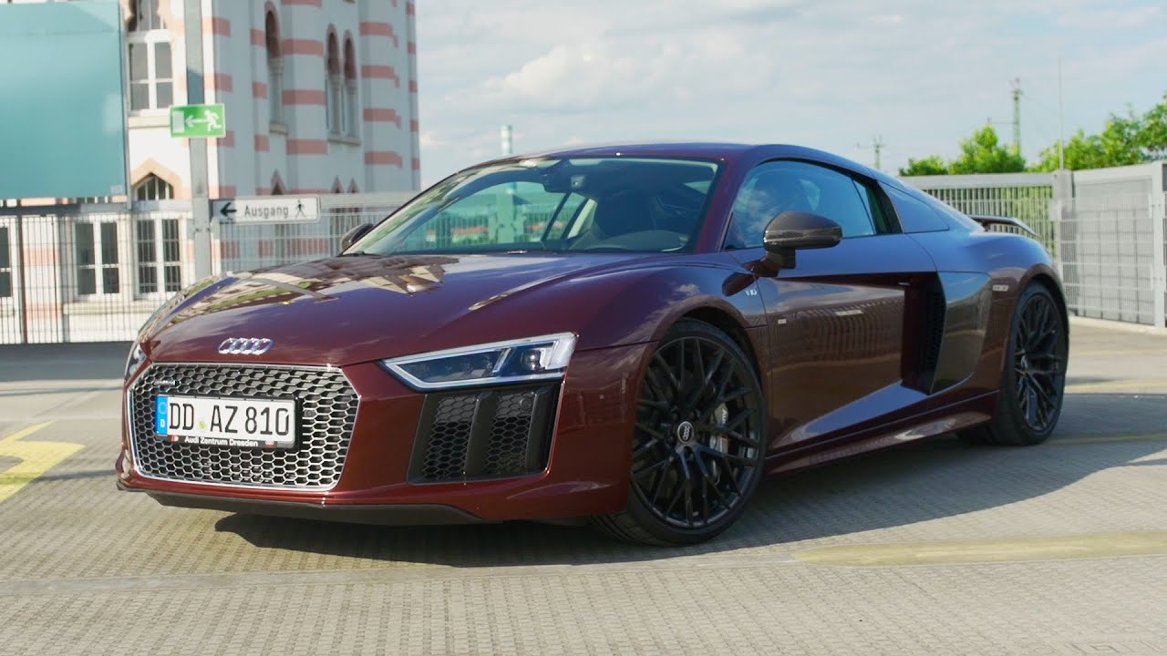 2016 Audi R8 V10 Plus Fahrbericht