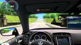 Lexus IS-F City Car Driving Araba Yaması İndir [Oyunmodlari.com]