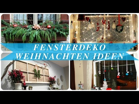 Fensterdeko weihnachten ideen - Most Popular Videos