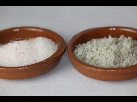 I Lost 4 Pounds In  2 Hours Epsom Salt Vs Sea Salt Flush.