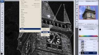 Уроки Adobe Photoshop CS3 - урок 24 - Наведение резкости на фото с шумом