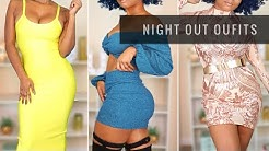 Night Out Outfit Try On |  Club, Bar, Date Night, Dinner Party Haul | Hot Miami Styles 2019