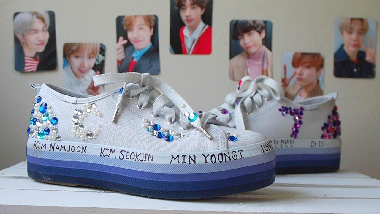 Creating Custom BTS Shoes | Bangtan DIY