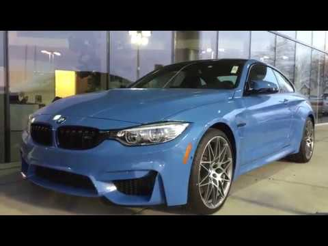 Yas Marina Blue Metallic 2017 Bmw M4 Coupe M4 Hotness At