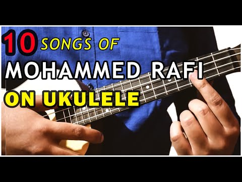 Play 10 Mohd. Rafi songs with just 3 chords on ukulele