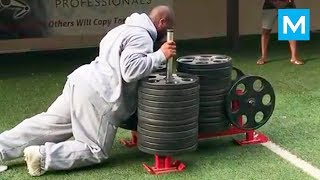 MONSTER Workout - Strongest NFL Player - James Harrison | Muscle Madness
