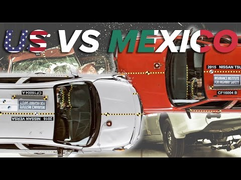 American Car Vs. Mexican Car