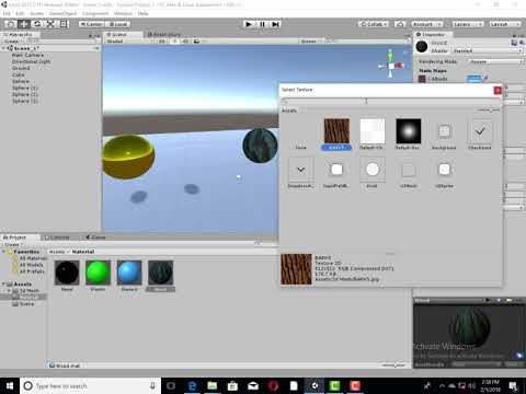 Unity 3d foundation -4 3 2: Basic Of Material
