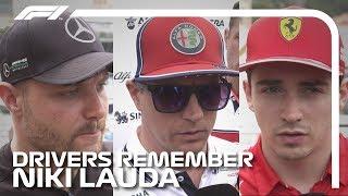 F1 Drivers Remember Niki Lauda | 2019 Monaco Grand Prix