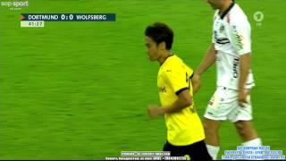 goal canceled for shinji kagawa borussia dortmund vs wolfsberger ac