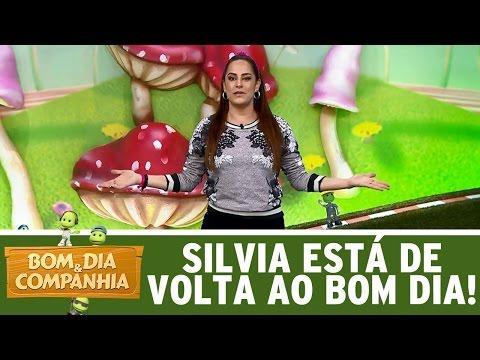 Silvia Abravanel está de volta ao Bom Dia | Bom Dia e Cia. (15/05/17)