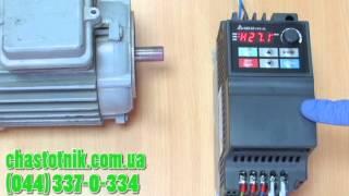 Выбор времени разгона в преобразователе частоты Delta Electronics VFD-EL(, 2014-07-22T12:48:40.000Z)