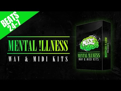 Hip Hop & Trap Beat Construction Kits 2017 - Mental Illness