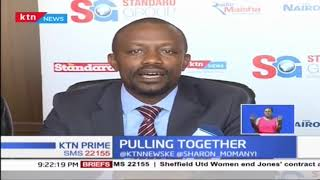 Standard Group has partnered with Equity Bank to provide capital financing to newspaper vendors