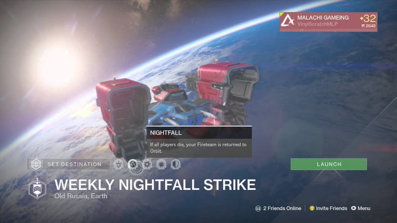No matchmaking for weekly heroic strike
