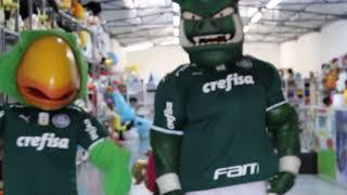 Mascotes Oficiais do Palmeiras na Bonecos e Mascotes 1198029-1046