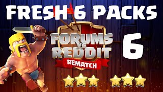Reddit vs Forums #6 - The FRESH SIX PACKS