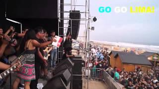 LOS MOJARRAS - TRICICLO PERÚ (Rock en la playa 2014)