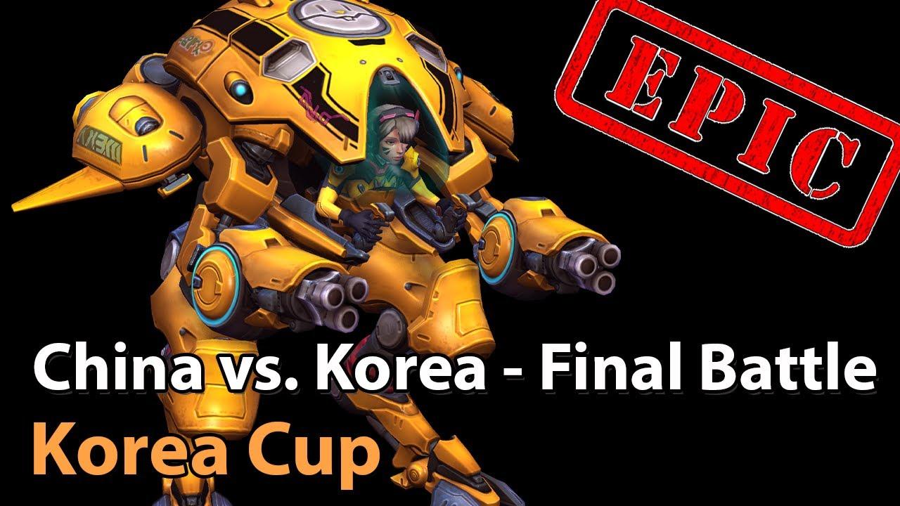 ► Korea vs. China (3rd Place Decider) - Korea Cup - Heroes of the Storm Esports