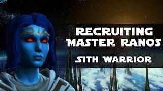 SWTOR: KotET - Recruiting Master Ranos [Sith Warrior]
