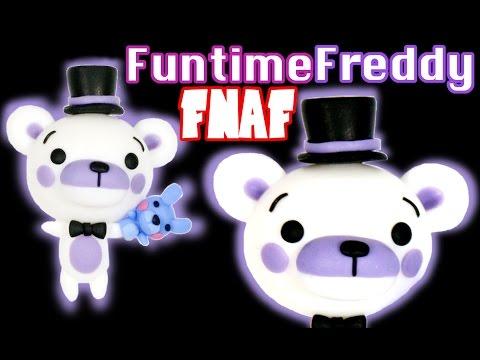 How to DIY Cute Funtime Freddy FNAF: Sister Location Polymer Clay Tutorial
