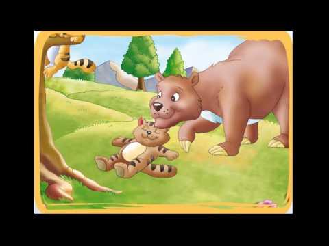 los-dos-gatitos-y-el-oso---cuentos-infantiles-para-niños
