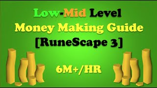 Low-Mid Level Money Making Guide [RuneScape 3]