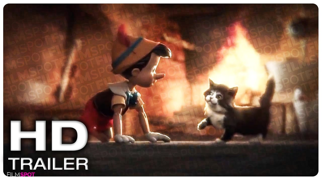 PINOCCHIO Official Teaser Trailer #1 (NEW 2021) Disney Live-Action Movie HD