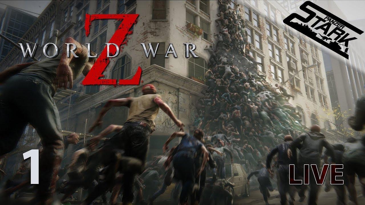 World War Z – 1.Rész (Zombik mindenhol!) – Stark LIVE